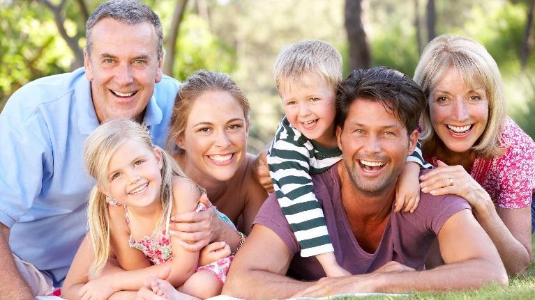 Голые фото семья