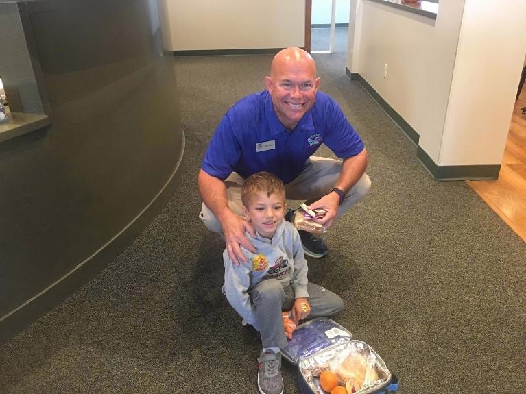 Packing lunch | Dr Bret Jerger | Decatur IL dentist