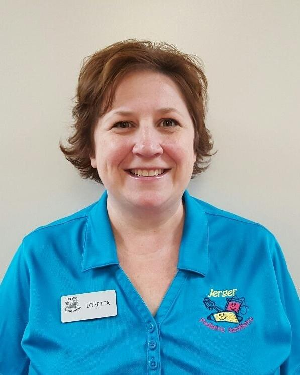 Patient Coordinator Loretta | Jerger Pediatric Dentistry