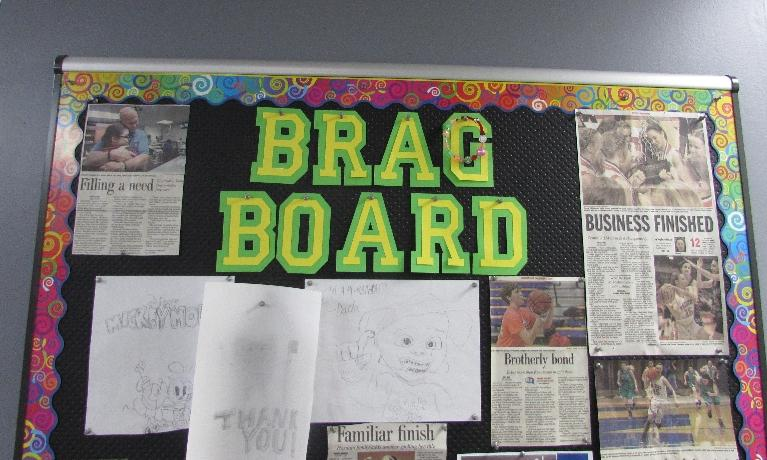 Our Brag Board!
